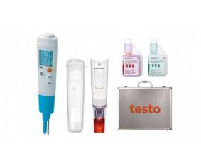 Стартовый комплект testo 206-pH2 - Карманный pH-метр с принадлежностями