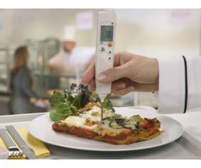 testo 106 - Компактный термометр для пищевого сектора с сигналом тревоги
