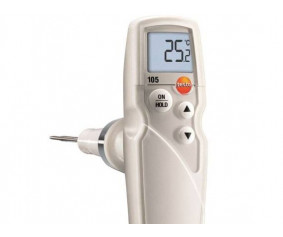 testo 105 - Термометр для пищевого сектора со стандартным измерительным наконечником