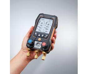 testo550s - testo 550s – Умный цифровой манометрический коллектор с 2-х ходовым блоком клапанов и Bluetooth