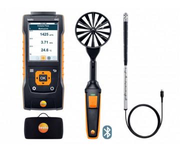 testo 440 Комплект для вентиляции 2 с Bluetooth® - testo 440 Комплект для вентиляции 2 с Bluetooth®