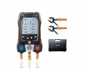testo550s Комплект 2 - Умный цифровой манометрический коллектор и беспроводные зонды-зажимы температуры