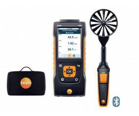 testo 440 Комплект с крыльчаткой 100 мм с Bluetooth® - testo 440 Комплект с крыльчаткой 100 мм с Bluetooth®