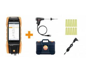 Комплект testo 300, СО без Н2-компенсации - Комплект testo 300 без H2-компенсации: анализатор дымовых газов (O2, CO до 4000 ppm)