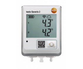 testo Saveris 2-T2 - testo Saveris 2-T2 - WiFi-логгер данных температуры c 2-мя разъёмами для внешних зондов NTC или дверных контактов